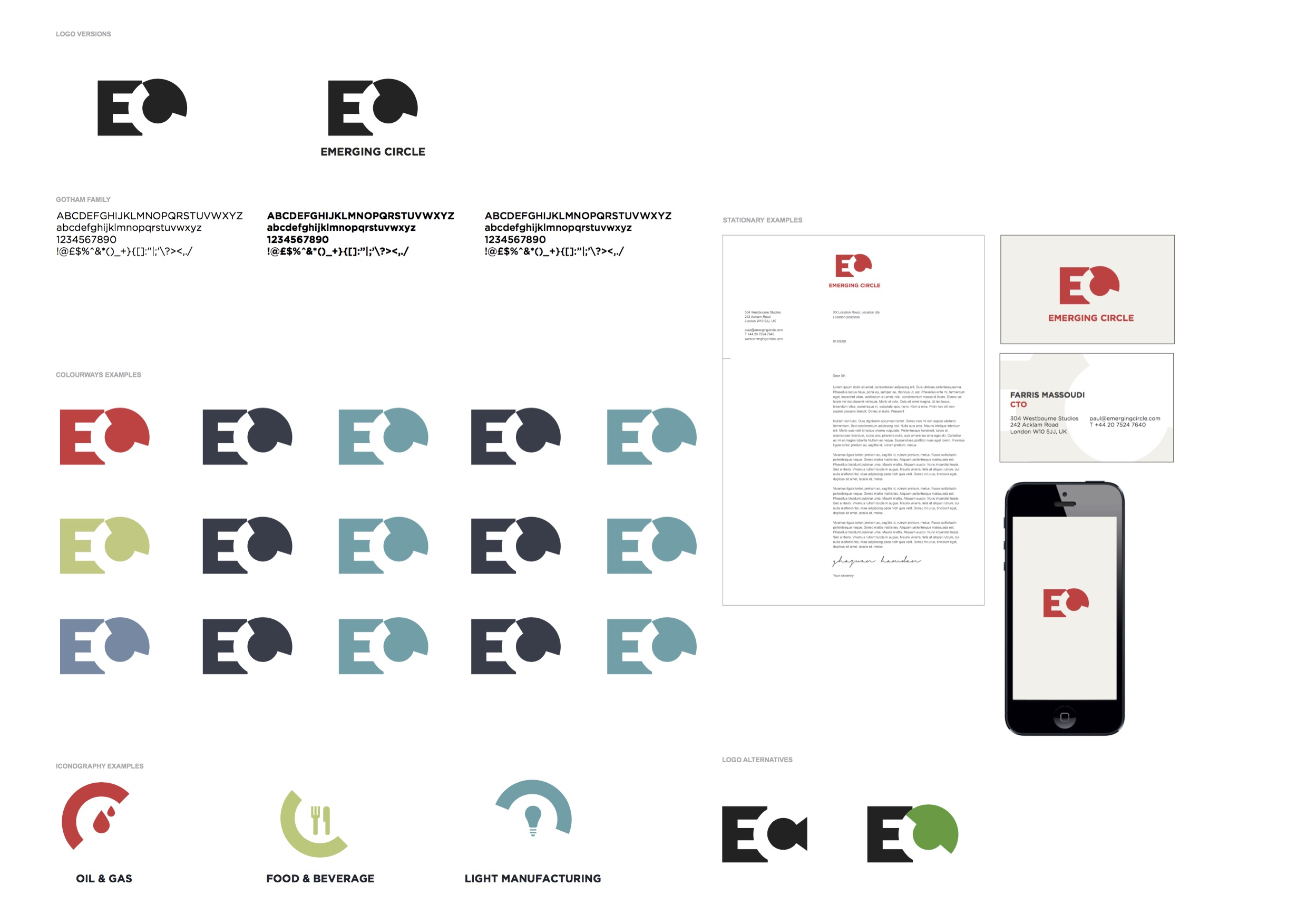 Emerging Circle Brand Template